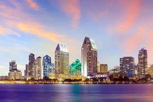 Panorama sur San Diego