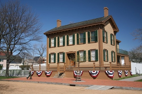 Maison d'Abraham Lincoln - Springfield