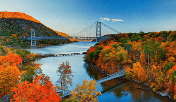 Découvre la vallée de l'Hudson avec ton Visa J1